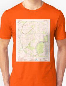USGS TOPO Map Arkansas AR Brickeys 258060 1984 24000 Unisex T-Shirt