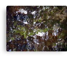 Camouflage Tiles Canvas Print