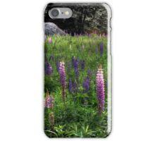 Birdhouse in the Lupine iPhone Case/Skin