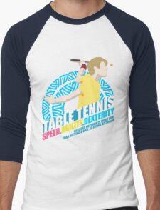 Speed,Agility,Dexterity - Table Tennis Men's Baseball ¾ T-Shirt