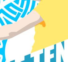 Speed,Agility,Dexterity - Table Tennis Sticker