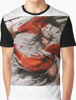 League of Legends – Bloodmoon Akali Graphic T-Shirt