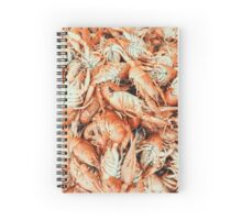 Lobsters For Sale In Fish Market Spiral Notebook