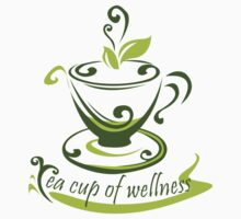Tea Cup Of Wellness Kids Clothes