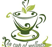 Tea Cup Of Wellness by papabuju