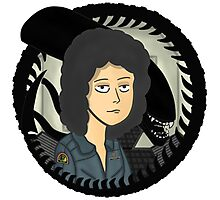 Ripley, signing off Photographic Print