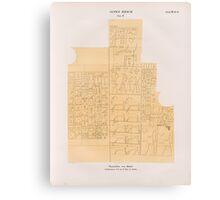 0207 Dynastie IV Pyramiden von Abusir Abû Sîr Site Grab 6 Grabkammer No1 im K Museum zu Berlin Canvas Print