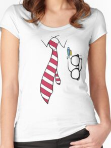 Tshirt Intelectual Women's Fitted Scoop T-Shirt
