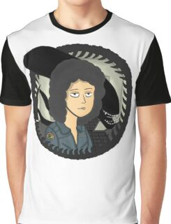 Ripley, signing off w/ grey tail Graphic T-Shirt
