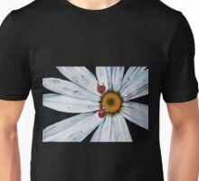 Ladybug on flower Unisex T-Shirt