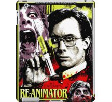 Re-Animator Poster iPad Case/Skin