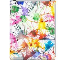 Watercolor Splashes iPad Case/Skin