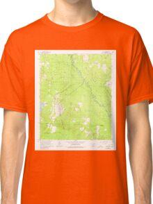 USGS TOPO Map Arkansas AR Leola 258915 1965 24000 Classic T-Shirt