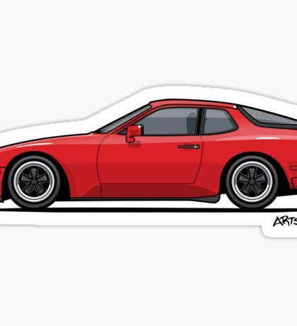 India Red 1986 P 944 951 Turbo (US spec) Sticker