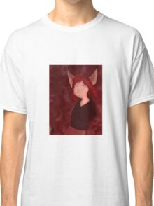 The Girl Who Howled Wolf Characters: Genevieve Classic T-Shirt