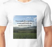 Costa Rica Landscape; Go Hike! Unisex T-Shirt