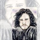 Kit Harrington miniature KH1 by wu-wei