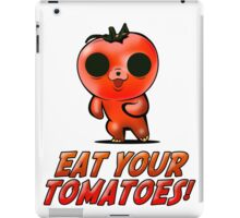 Eat Your Tomatoes iPad Case/Skin
