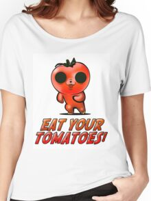Eat Your Tomatoes Women's Relaxed Fit T-Shirt