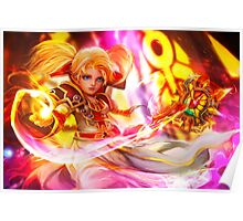 World of Warcraft – Gnome Priest Poster