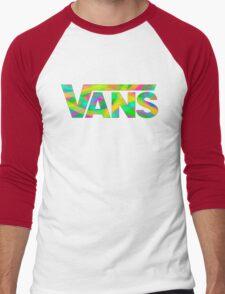 Vans Multi-Colour Stripes Men's Baseball ¾ T-Shirt