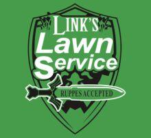 Link's Lawn Service Gaming Retro Funny Zelda  by bentoz