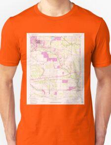 USGS TOPO Map Arkansas AR Jacksonville 258818 1954 24000 Unisex T-Shirt