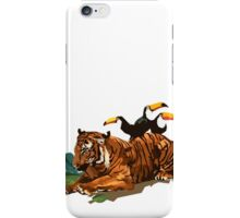 Troubled Tiger iPhone Case/Skin