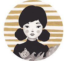 Kitty Girl II by Emma Hampton