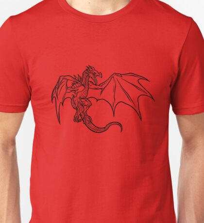 Skyrim Dragon Unisex T-Shirt