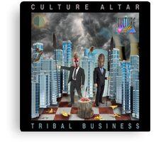 Tribal Business Canvas Print