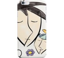 Father and son dreaming about Disneyland ! iPhone Case/Skin