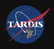 Tardis NASA, Parody Dr Dalek Who Doctor Space Time BBC Tenth Police Box by bentoz