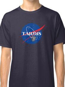 Tardis NASA, Parody Dr Dalek Who Doctor Space Time BBC Tenth Police Box Classic T-Shirt
