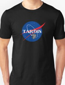 Tardis NASA, Parody Dr Dalek Who Doctor Space Time BBC Tenth Police Box T-Shirt