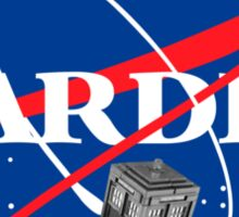 Tardis NASA, Parody Dr Dalek Who Doctor Space Time BBC Tenth Police Box Sticker