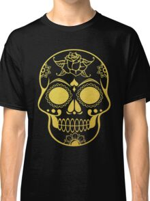 Gold Ornate Skull Classic T-Shirt