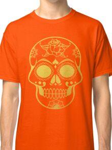 Gold Ornate Skull Classic T-Shirt