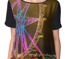 Star wheel Chiffon Top