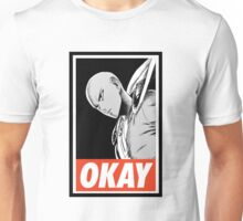 one_man_punch_okay_face_challenge Unisex T-Shirt