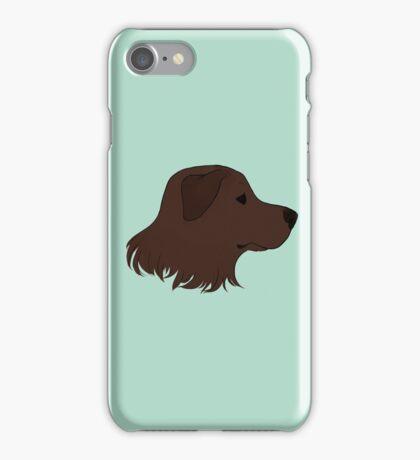 Chocolate Labrador iPhone Case/Skin