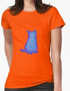 Cosmic cats rules!! Womens Fitted T-Shirt