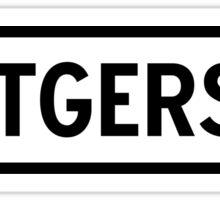 Rutgers Sticker