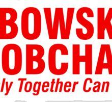The Big Lebowski Sobchak Sticker