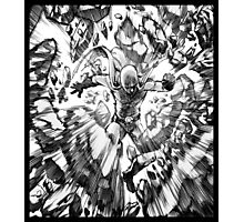 one_man_punch_explosion Photographic Print