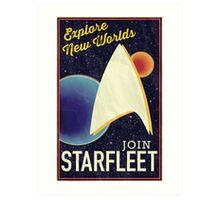Star Trek Recruitment: Join Starfleet Art Print