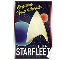 Star Trek Recruitment: Join Starfleet Poster