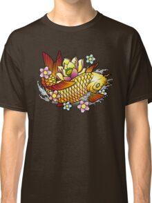 Koi Fish with Lotus Classic T-Shirt