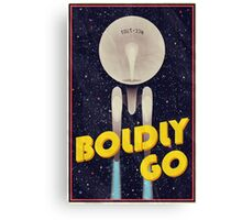 Star Trek: Boldly Go Canvas Print