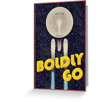 Star Trek: Boldly Go Greeting Card
